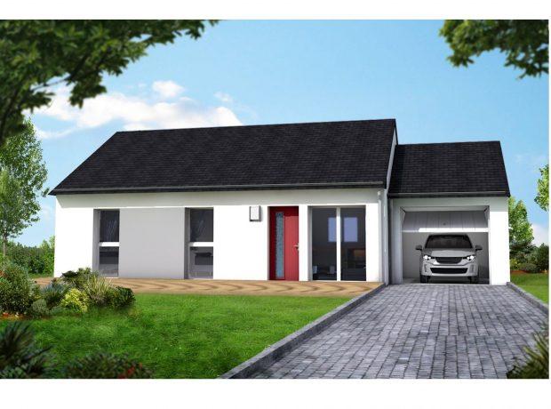 Personnalisable : maison  plain pied  3 chambres compris garage
