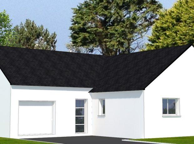 personnalisable : maison de plain pied  avec 99 m2 habitable et annexe de 21 m2